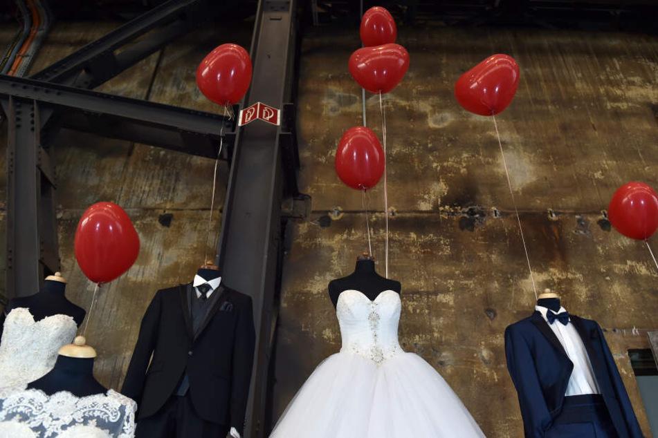 Wer heiraten möchte, der sollte sich am Wochenende im Schloss Breitungen umsehen.