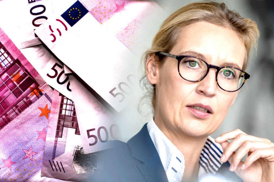 130.000 Euro aus der Schweiz! AfD nahm offenbar illegale Spende an