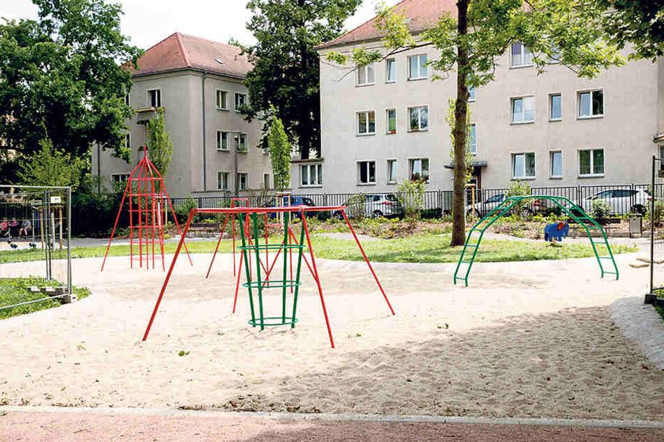 So sahen die typischen Spielplätze zu DDR-Zeiten aus.