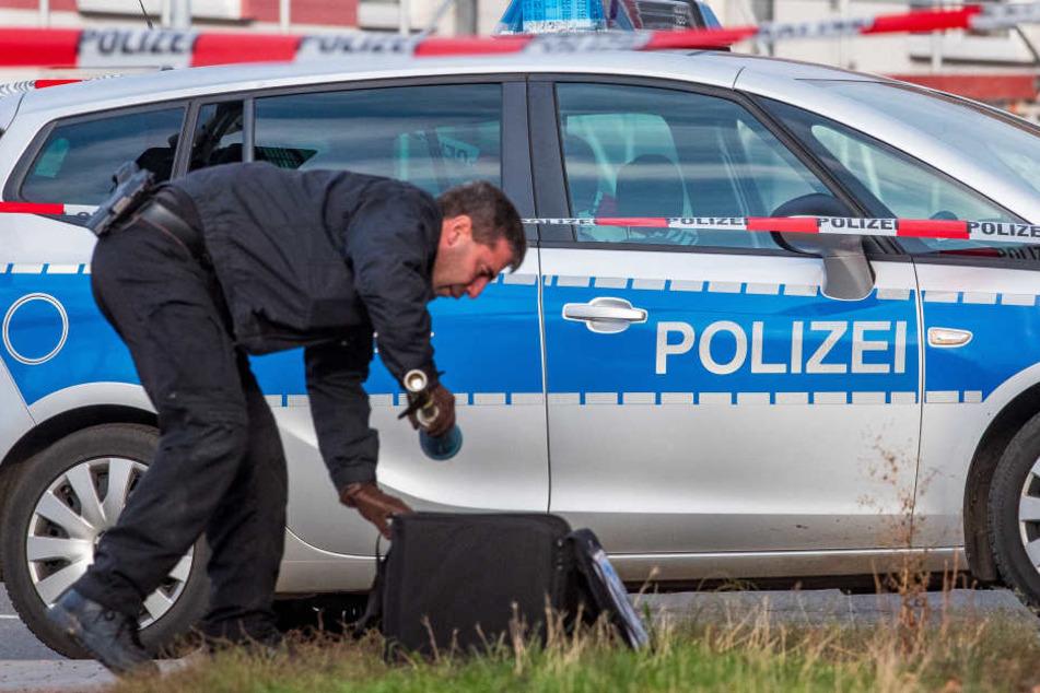 """Straßen gesperrt! """"Gefährlicher Gegenstand"""" an Container in Erfurt gefunden"""