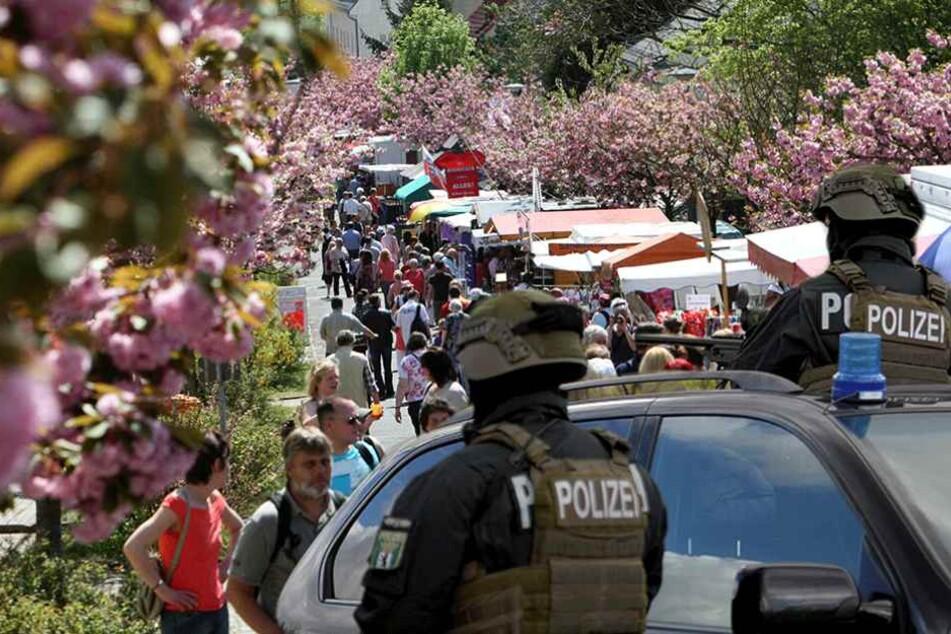 So wird das Baumblütenfest in Werder gegen Terror geschützt