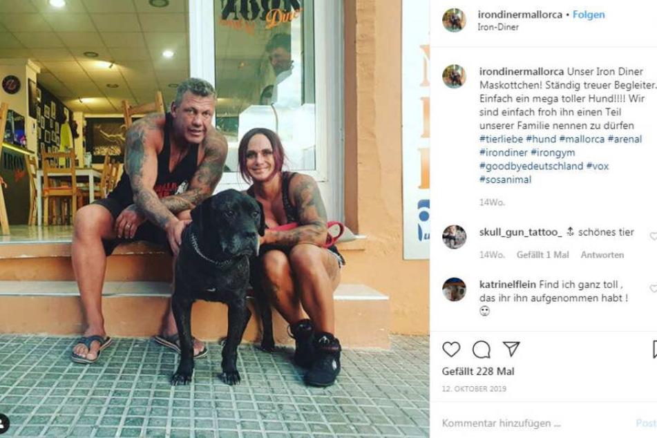 Noch im Oktober 2019 stellten Caro und Andreas ihr neues Mitglied vor.