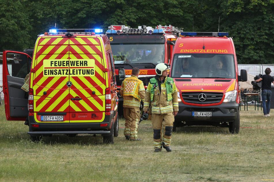 Im Einsatz waren Feuerwehr, Notarzt und Polizei.