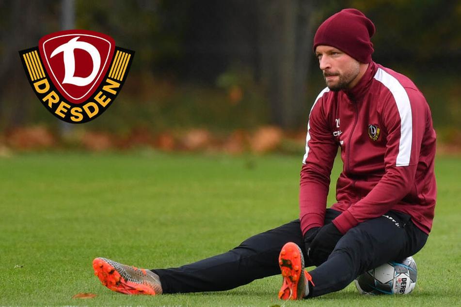Dynamo Dresden: Schafft es Patrick Ebert bis zum HSV-Spiel?