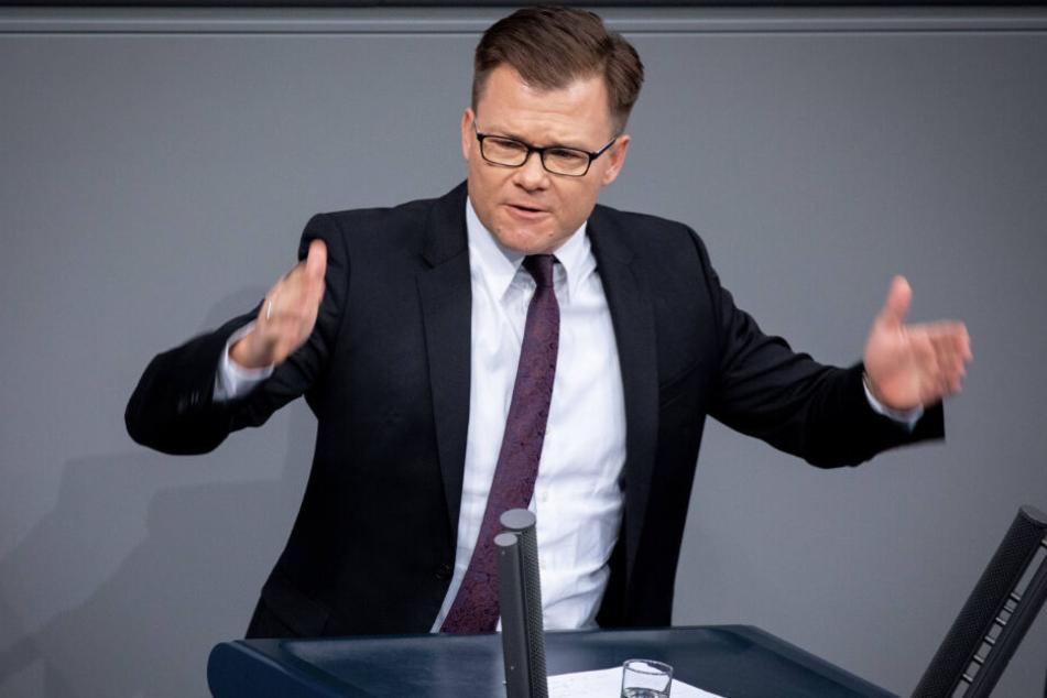 Carsten Schneider (SPD), Erster Parlamentarischer Geschäftsführer der SPD-Bundestagsfraktion.