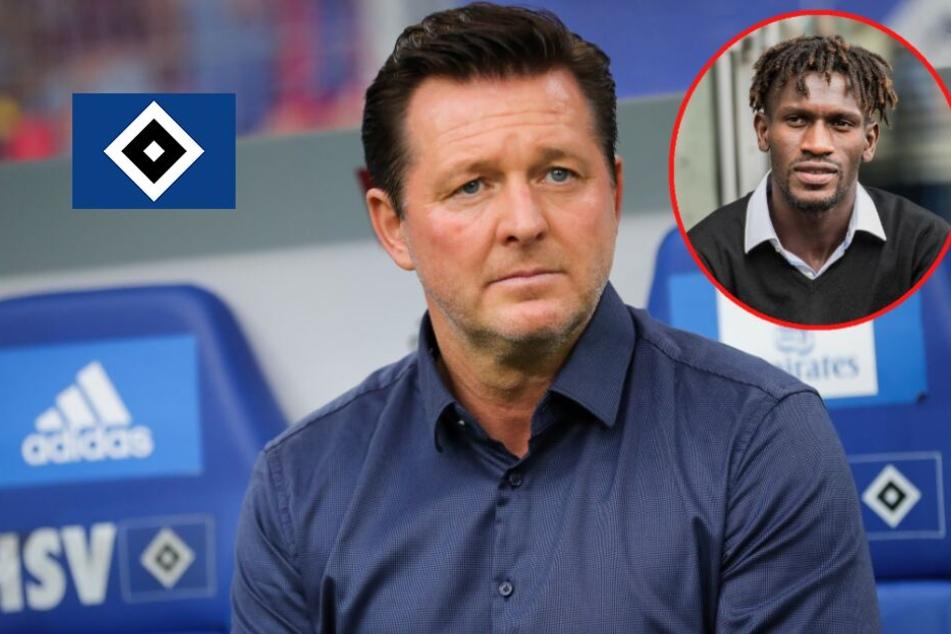 "Ex-HSV-Coach Titz sorgt sich um Jatta: ""Hinter verschlossenen Türen leidet er!"""