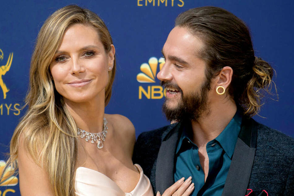 Heidi Klum (45) und Tom Kaulitz (29) sind so verknallt.