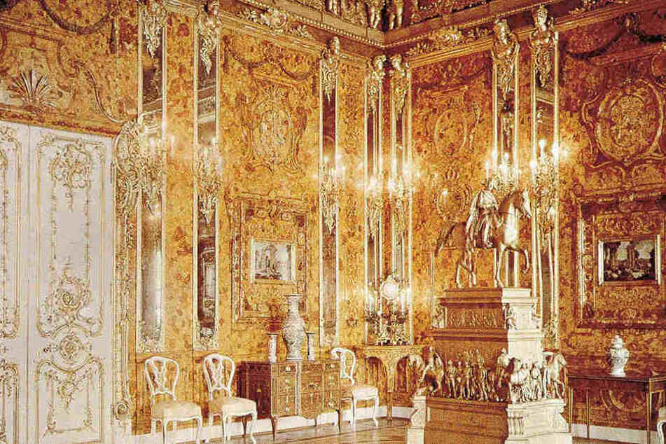 Könnte sich das Bernsteinzimmer bei Nordhausen befinden? Ein Schatzsucher aus Nordhausen glaubt fest daran. (Symbolbild)