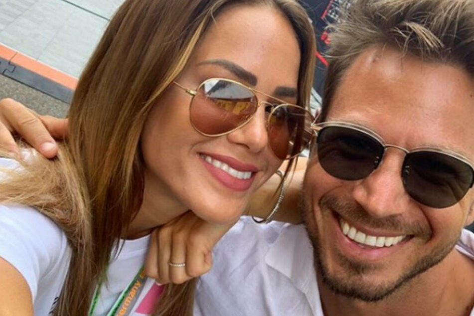 Angelina Heger und Sebastian Pannek erwarten ein Kind.