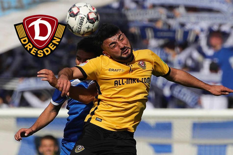 Aosman feiert zwischen Dynamos Ost-Derbys sein Comeback
