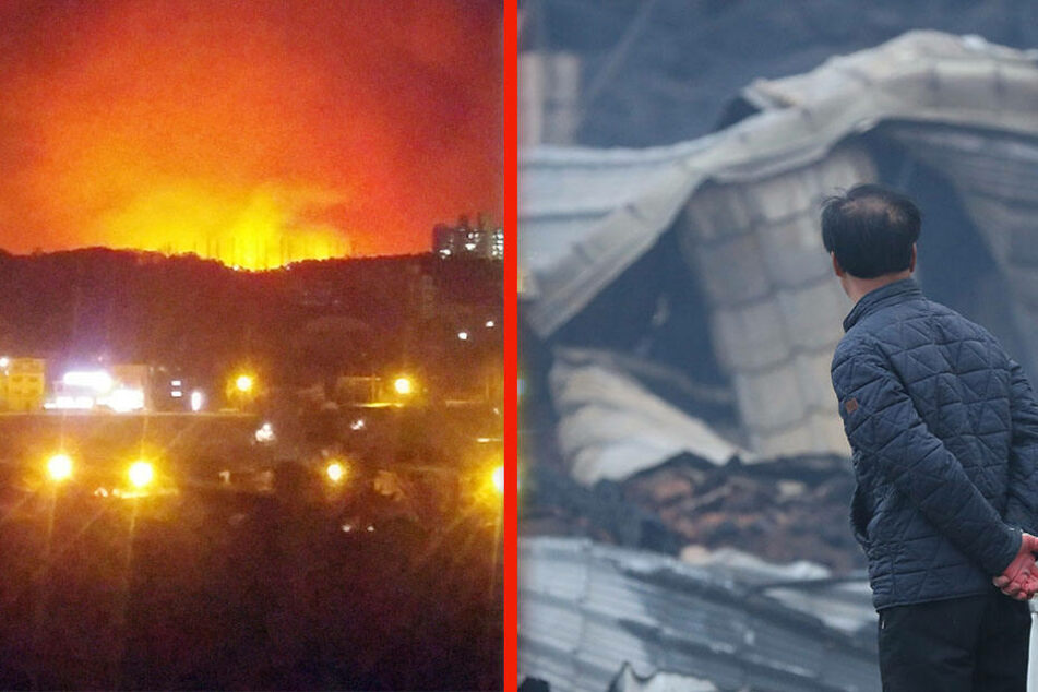 Katastrophenfall ausgerufen! Große Schäden und ein Toter bei Waldbrand