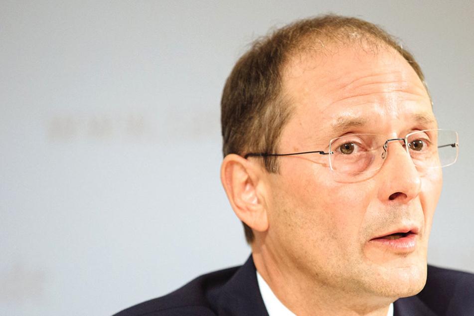 Ex-Innenminister Markus Ulbig (54, CDU) gibt seinen Wahlkreis ab