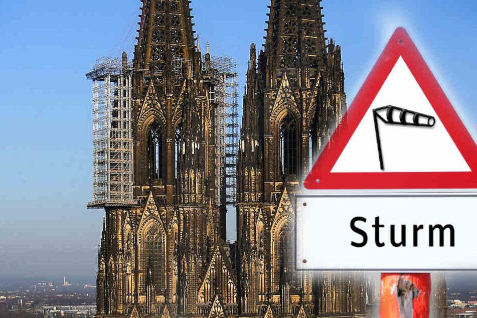 Alle Infos zum drohenden Sturm in Köln: Montag Schulen dicht, Zoo schließt, Sperrungen am Dom