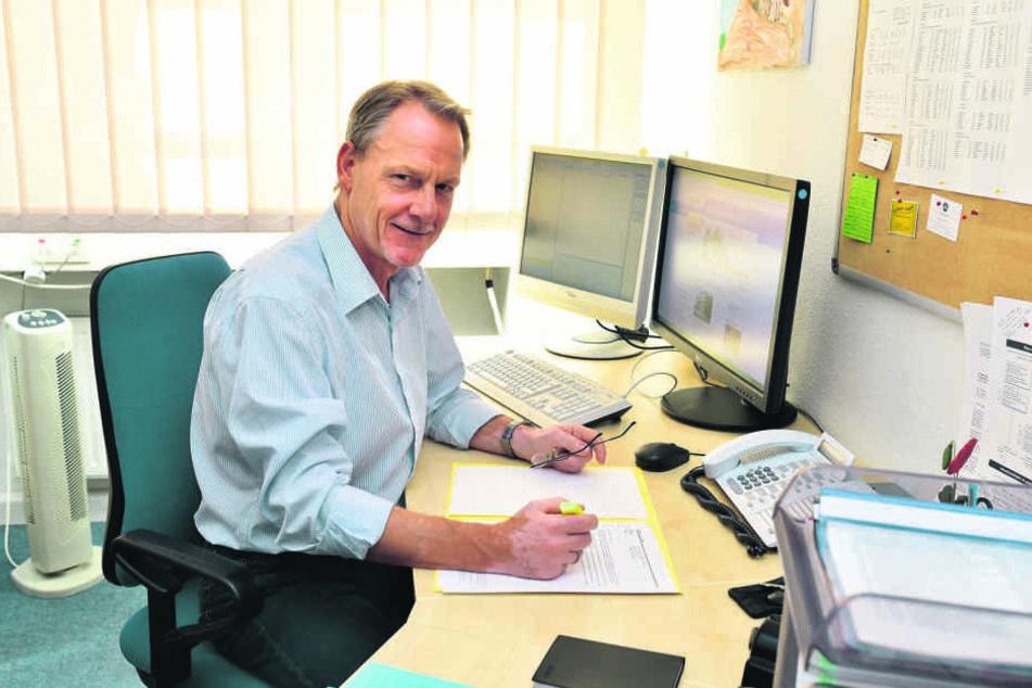 Lutz Steinert (60) vom Landesamt für Schule und Bildung.