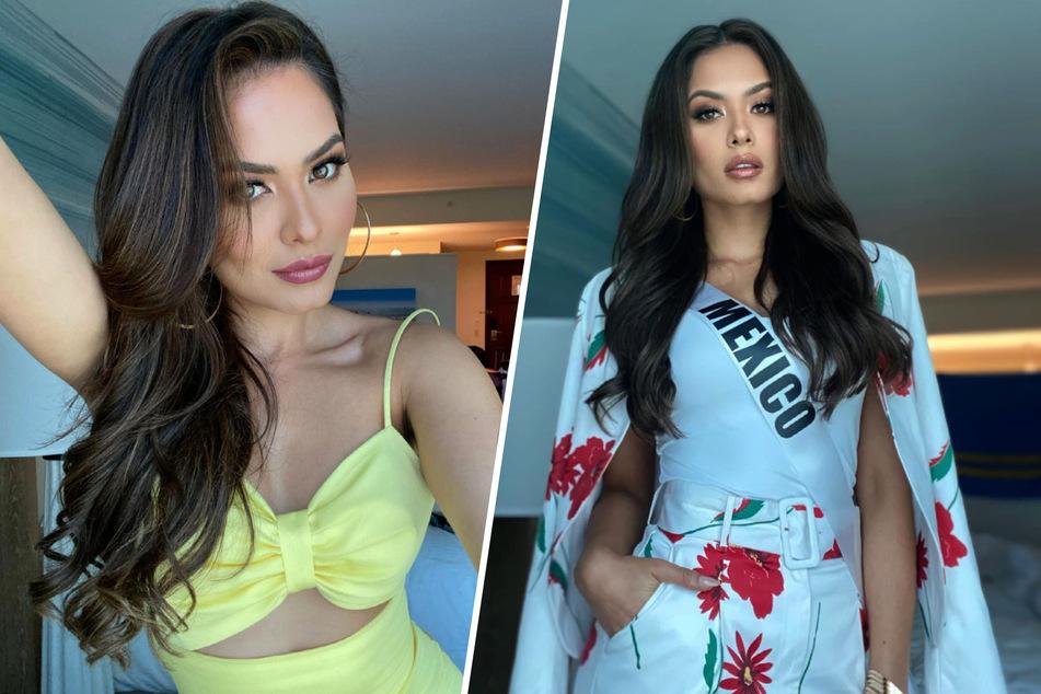 """Andrea Meza (26) ist überglücklich. Sie trägt den Titel der """"Miss Universe 2020""""."""