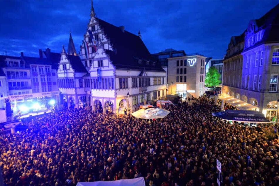 Das Frühlingsfest lockt jedes Jahr rund 300.000 Besucher an.