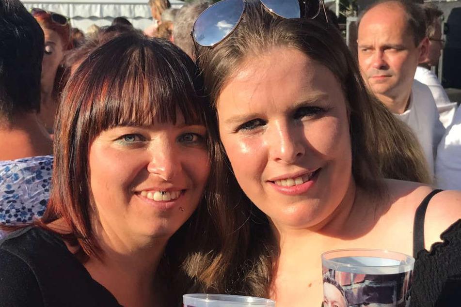 Anja Börner (33) und Kerstin Biron (34) aus Flöha und Niederwiesa waren letztes Jahr bereits dabei...