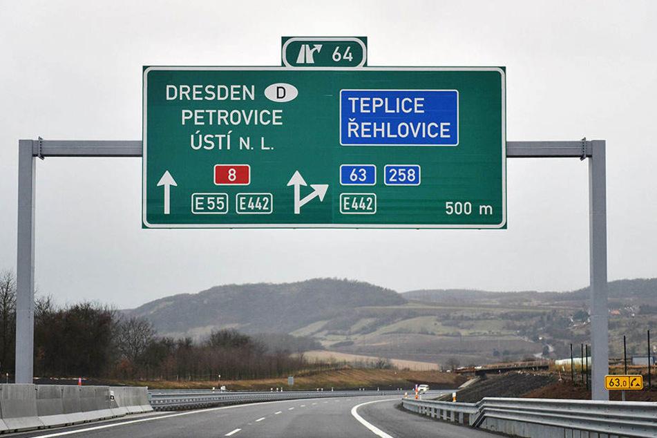 Die Fahrtzeit von Dresden  nach soll nur noch rund eine Stunde dauern.