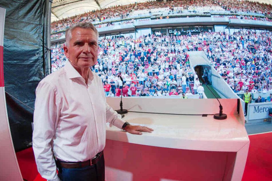 VfB-Präsident Wolfgang Dietrich wünscht sich, dass Stuttgart langfristig die Nummer Drei in der Bundesliga wird.