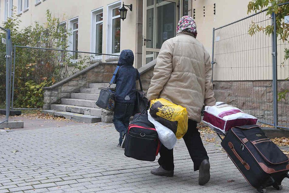 Vier Familien müssen aus der Unterkunft ausziehen. (Symbolbild)