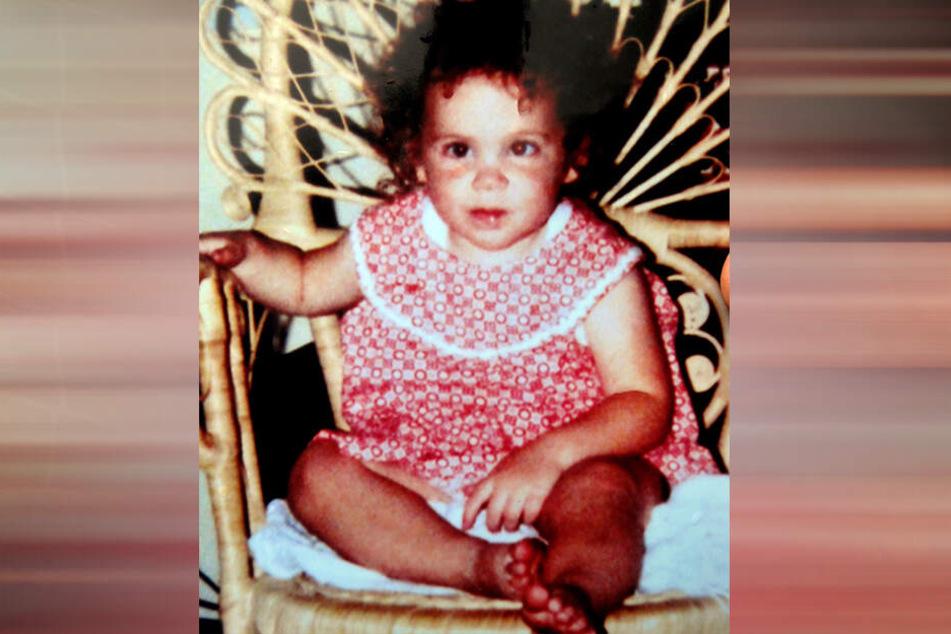 Ein Foto von Katrice aus dem Jahr 1981 zeigt das Mädchen kurz vor ihrem Verschwinden.