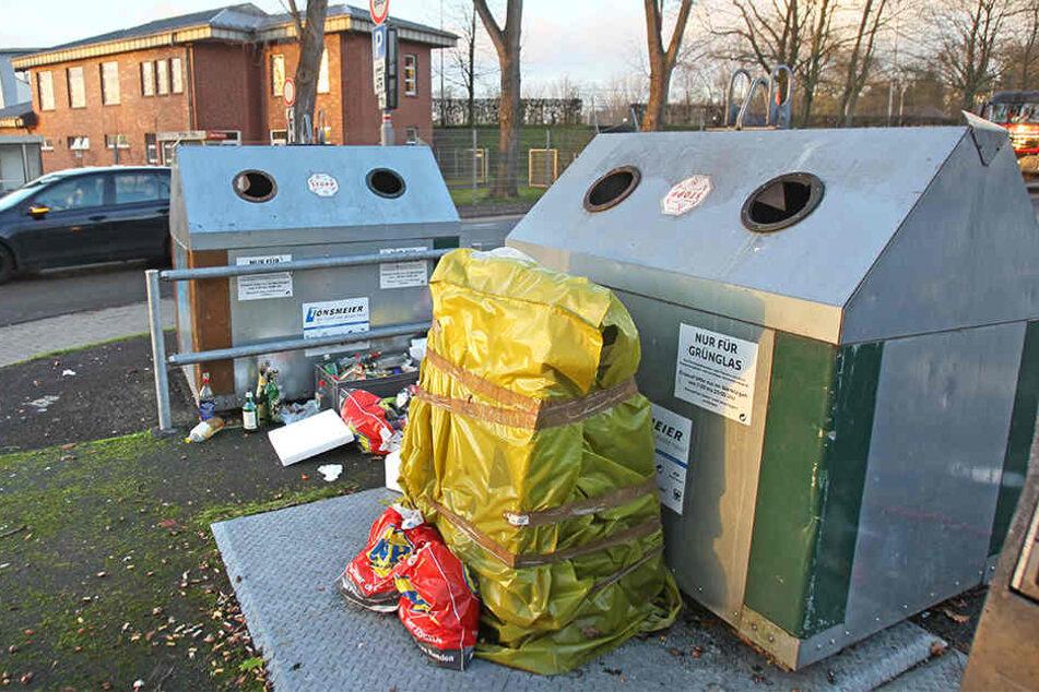 Rücksichtlose Müllentsorgung. Dieses Bild soll es in Herford demnächst nicht mehr geben (Symbolbild).