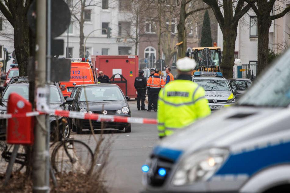 Anwohner evakuiert: Bombe in Winterhude erfolgreich entschärft!
