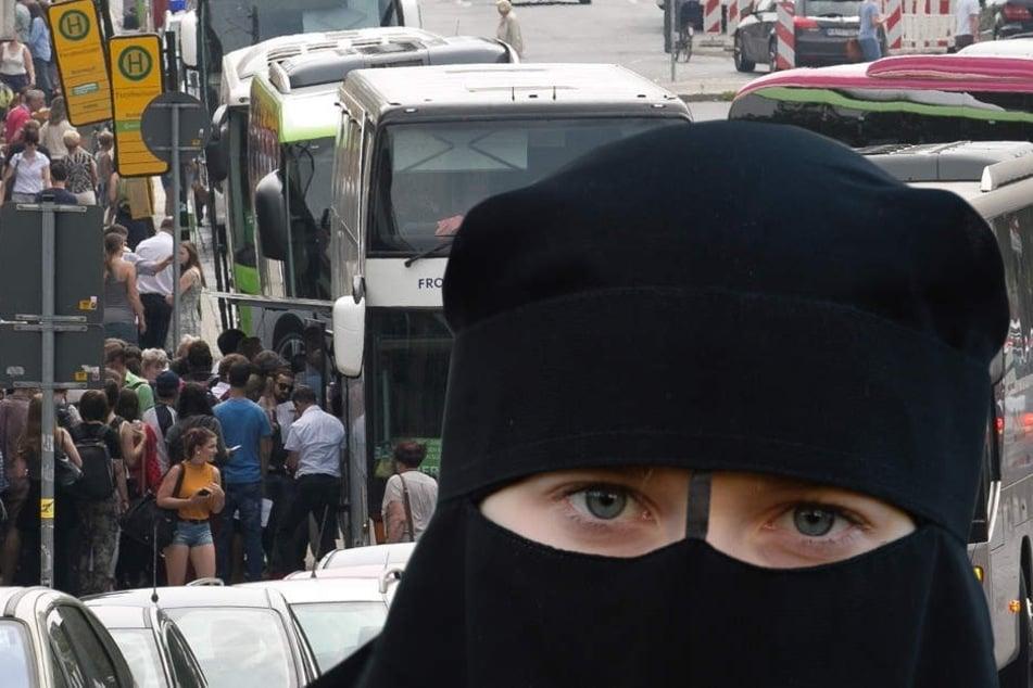 Dresdner Busfahrer will Verschleierte nicht mitnehmen