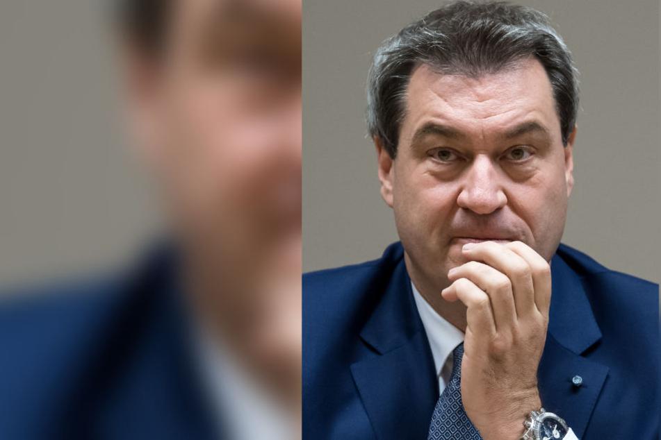 Der EuGH soll klären, ob Politiker wie Markus Söder (CSU) in Zwangshaft genommen werden können.