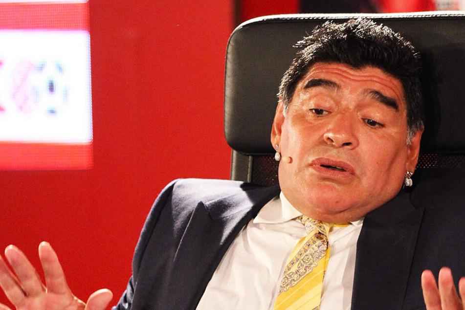 Große Sorge um Diego Armando Maradona: Magenblutung und Operation!