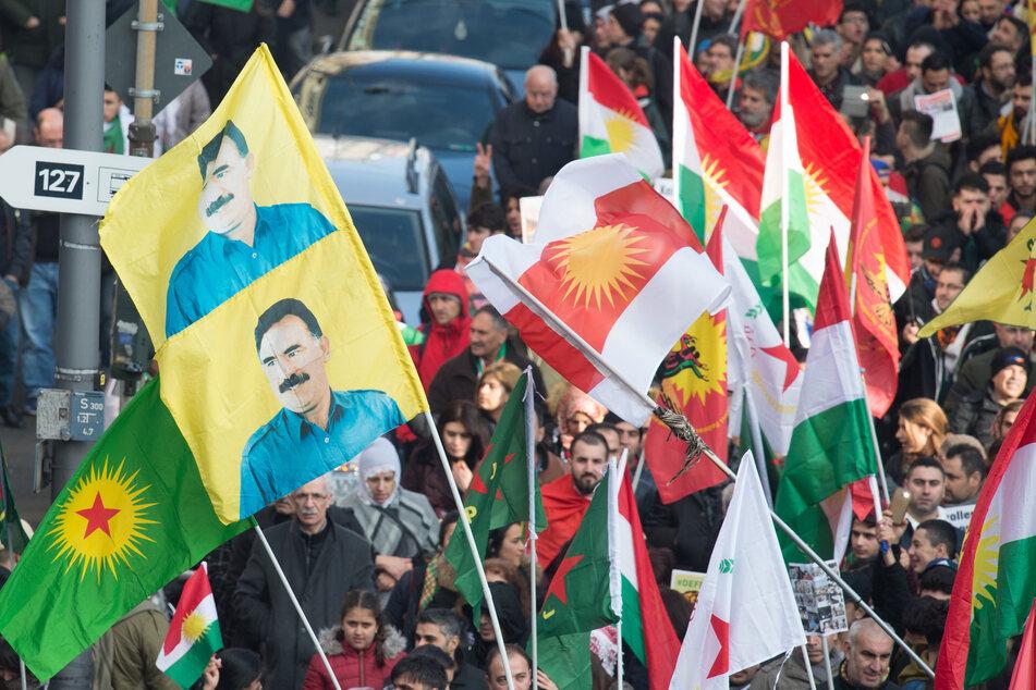 Eine frühere Kurden-Demo im Jahr 2018 in Köln.