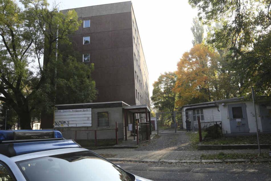 Die Asylunterkunft in der Straßburger Straße.