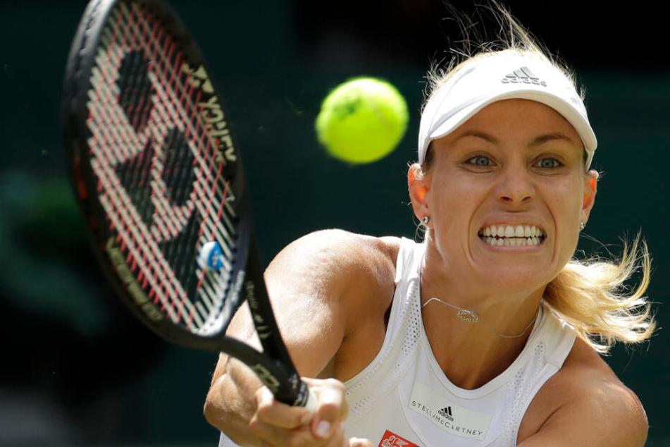 Tennis-Hammer! Angelique Kerber schlägt bei Mini-Wimbledon in Berlin auf