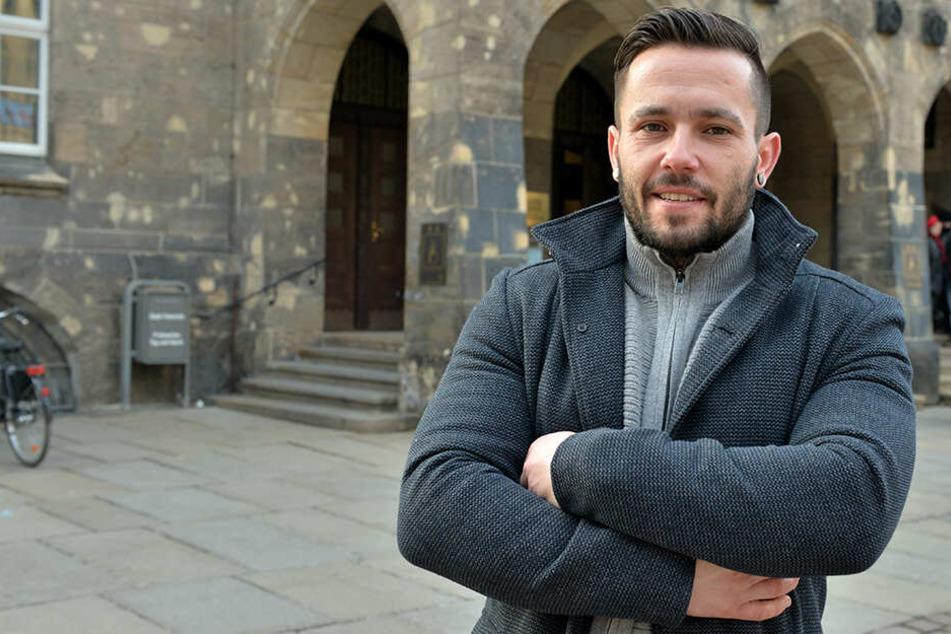 Thomas Uhl ist Polizist und sitzt für die SPD im Stadtrat.
