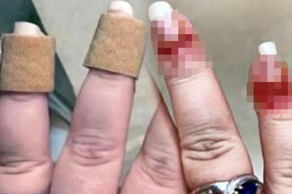 Frau geht ins Nagelstudio und erlebt dort den absoluten Horror
