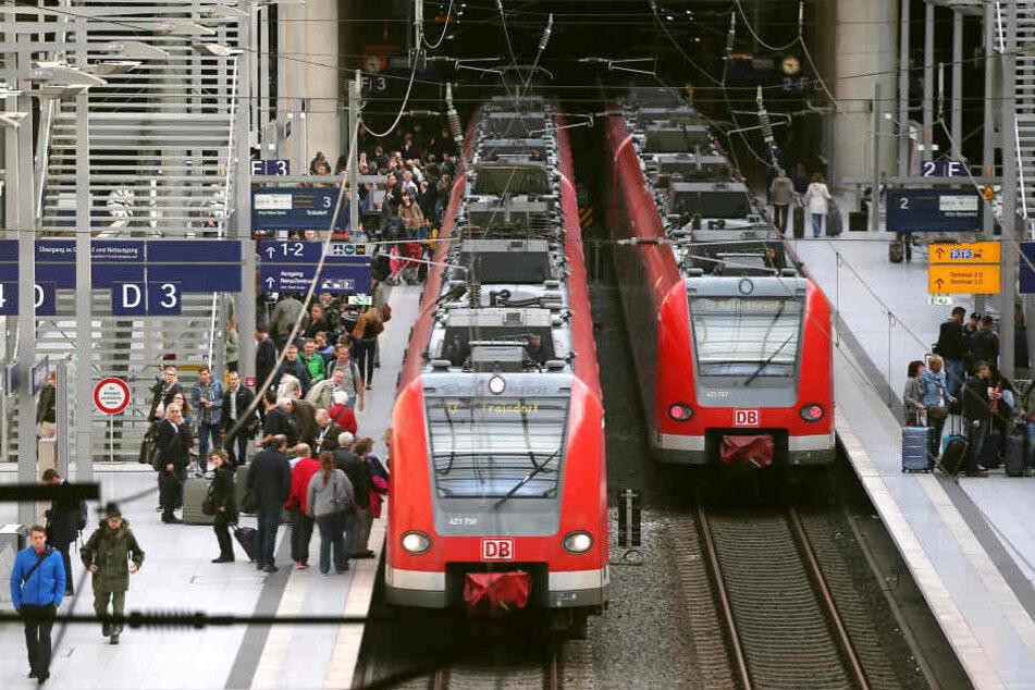 Wir müssen uns auf Sperrungen und Zugausfälle bei der Bahn einstellen