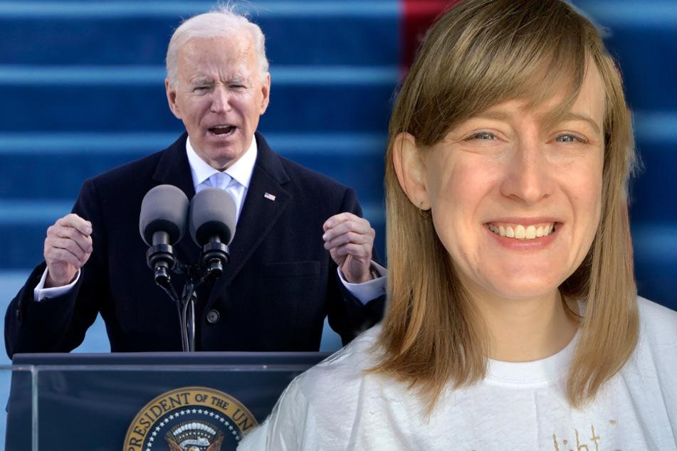 """US-Amerikanische Studentin aus Chemnitz über Joe Biden: """"Es kann nur besser werden"""""""