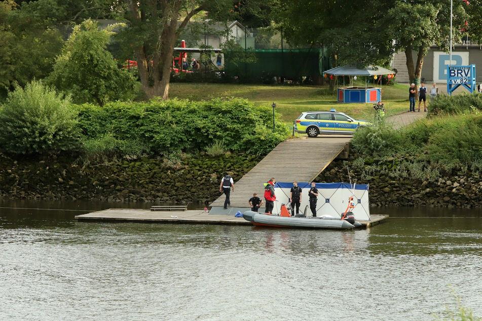 Nach Schiffs-Kollision auf der Weser: Leiche gefunden