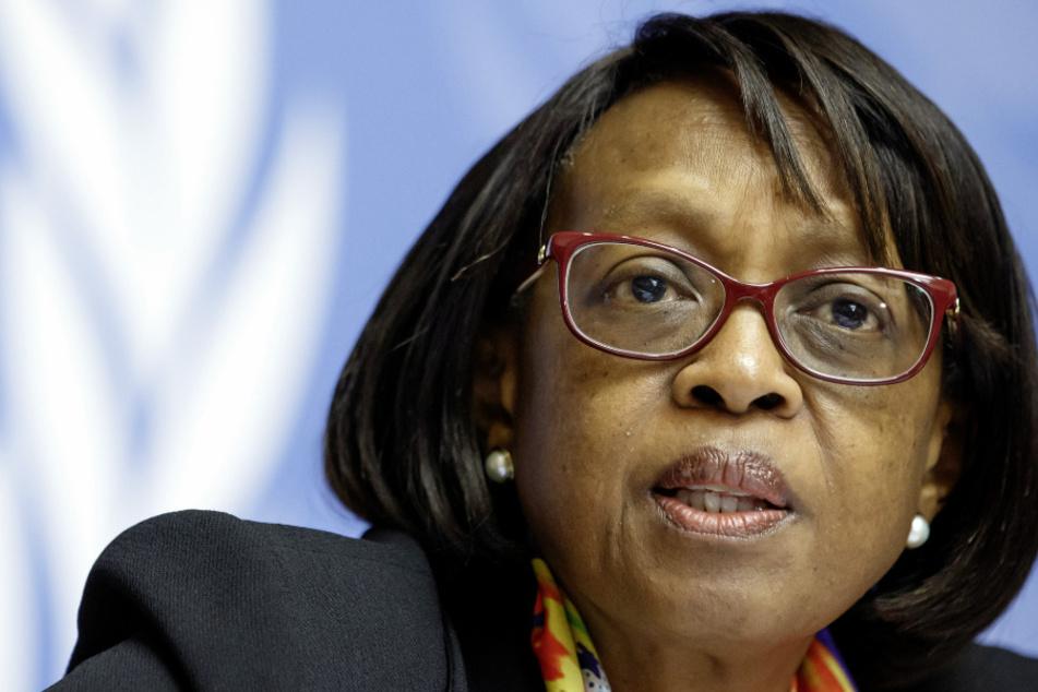 WHO-Chefin für Afrika, Matshidiso Moeti.