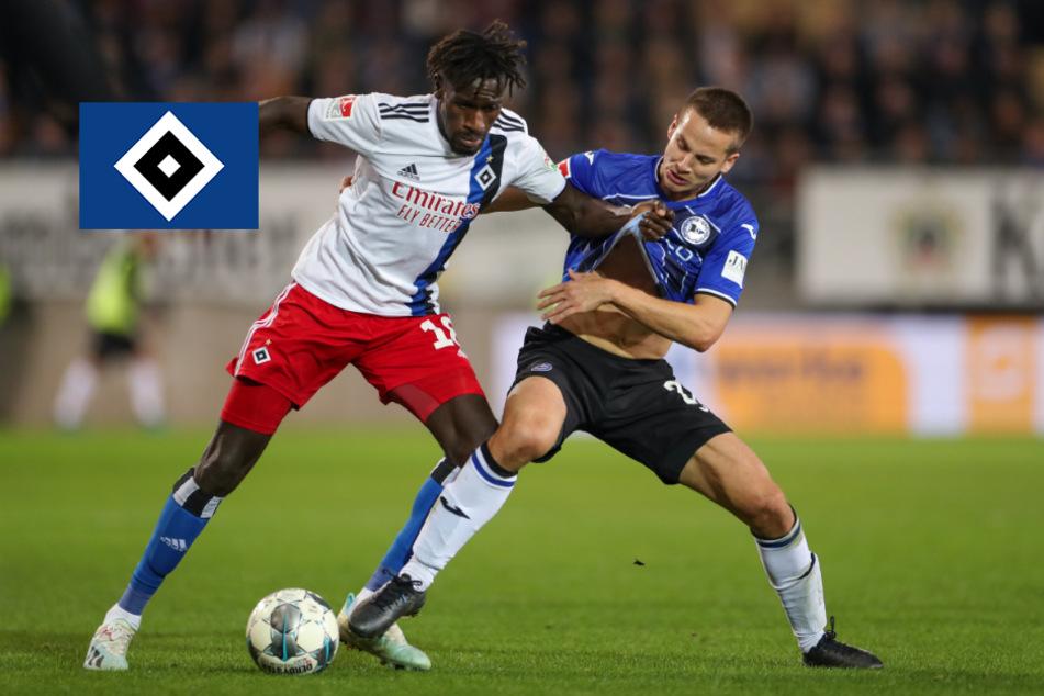 Hamburg: Trotz Coronavirus: HSV und Arminia Bielefeld trennen sich in Spitzenspiel unentschieden