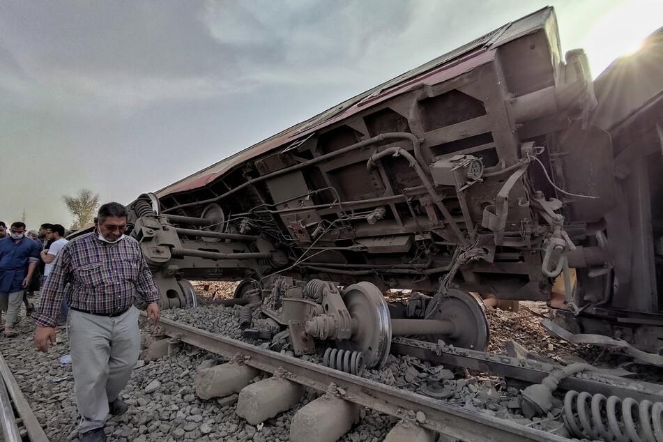 Schon wieder schweres Zugunglück! Elf Tote und rund 100 Verletzte
