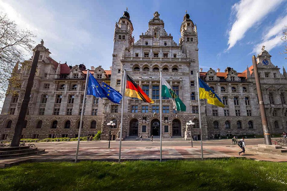 Der Rathausvorplatz soll Leipzigs neuestes Schmuckstück werden.