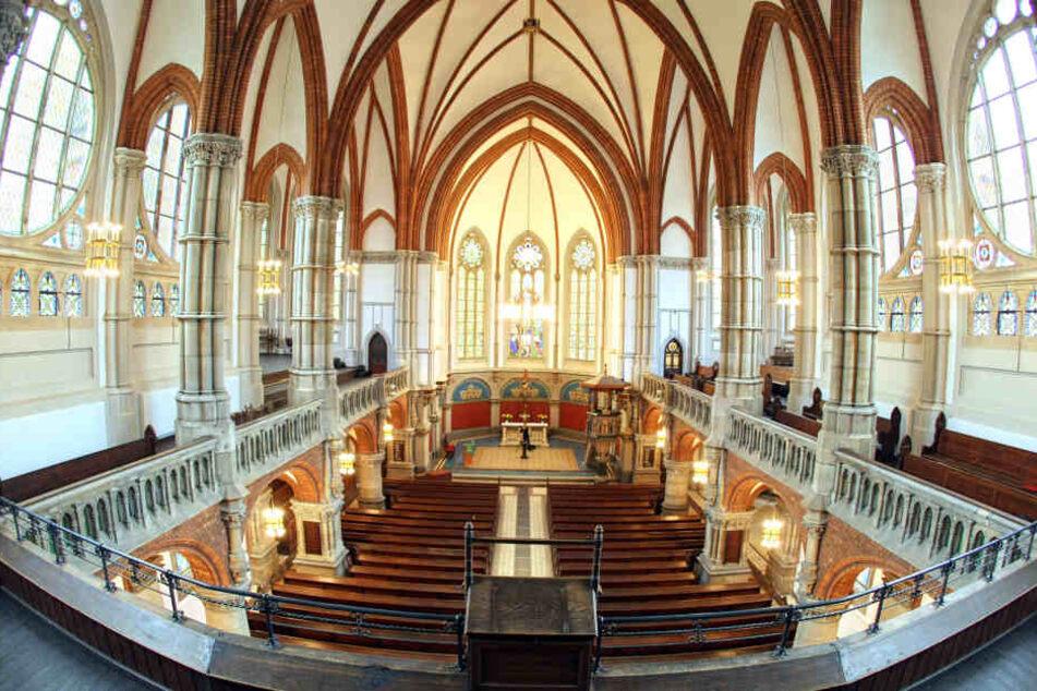 Der Pakistani war am Montagabend in die Petrikirche am Theaterplatz eingebrochen. (Archivbild)