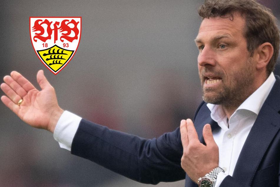 VfB-Coach Weinzierl kämpft gegen Ex-Club Augsburg um seinen Job