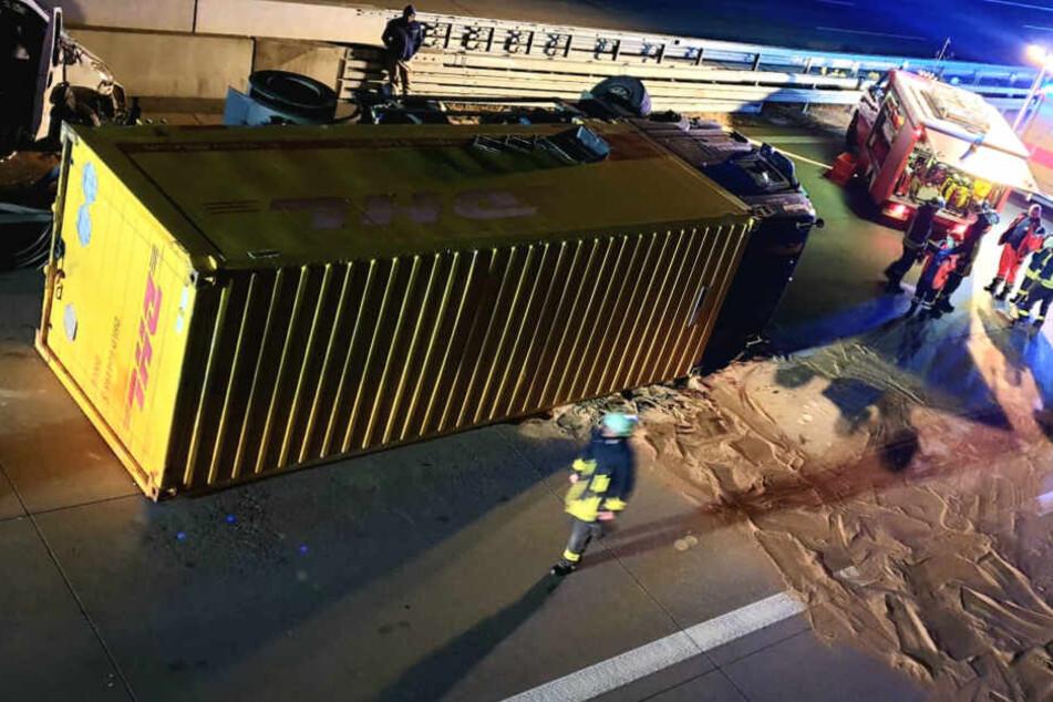 Die Autobahn wurde zwischen Ziesar und Wollin für mehrere Stunden gesperrt.