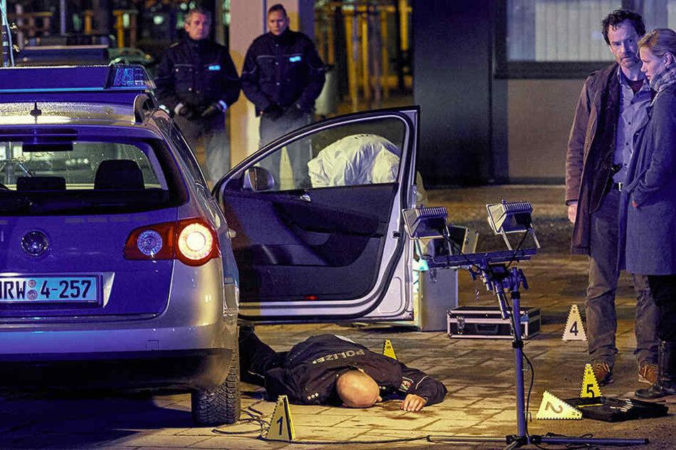 Die ARD zeigt den Zuschauern die schreckliche Szene am Ende des Tatorts am Ostermontag.