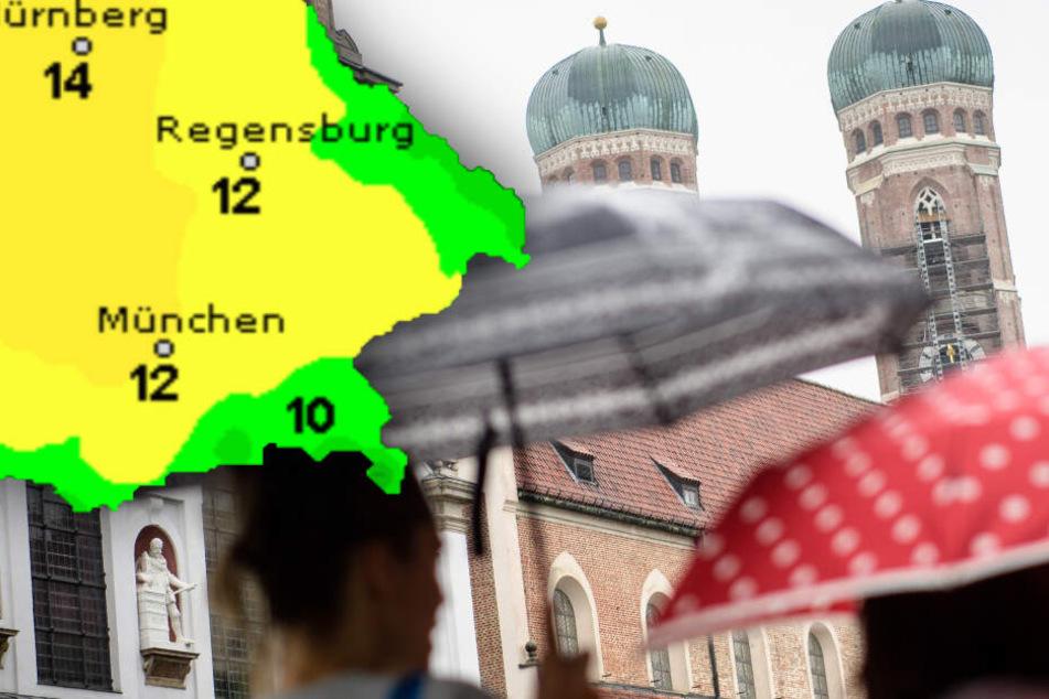 Ihr genießt das Wetter in Bayern? Gut so, denn es bleibt nicht mehr lange so genial