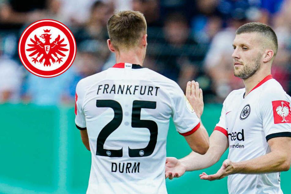 Geiler Fußball-Krimi in Mannheim: Eintracht besiegt den SV Waldhof mit 5:3!