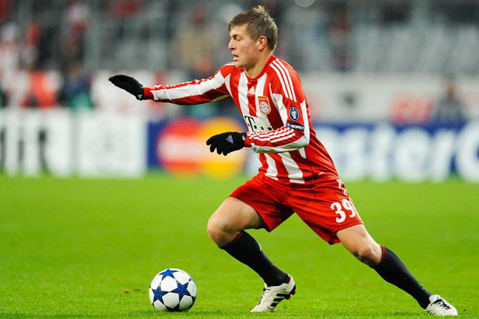 Insgesamt sieben Jahre lang spielte Toni Kroos beim FC Bayern München.