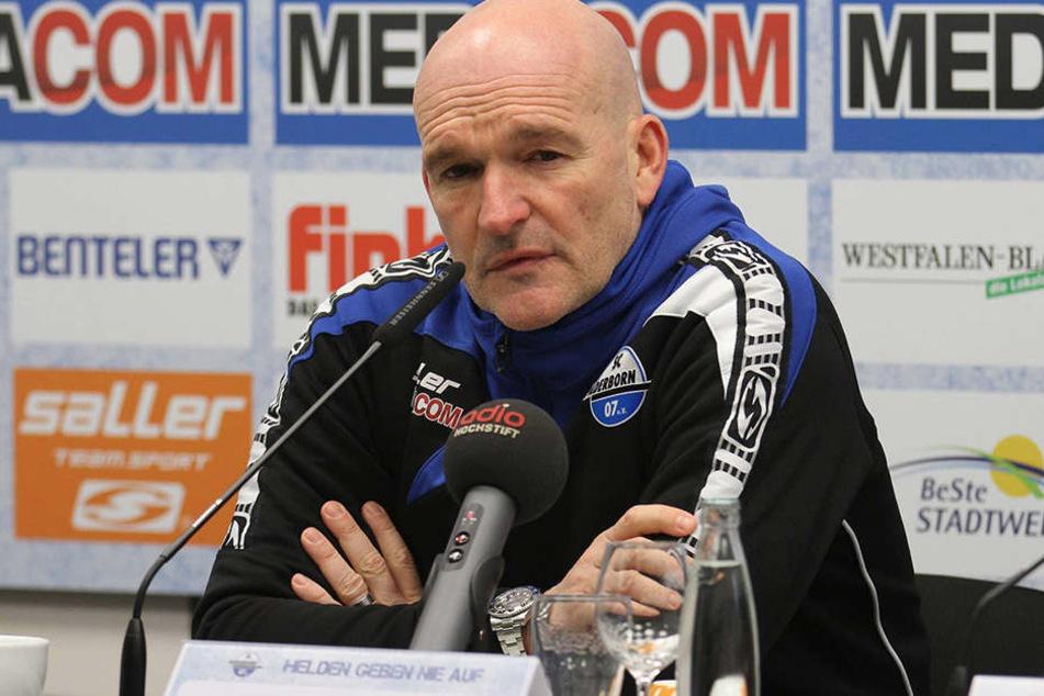 Stefan Emmerling (50) wollte Wehen Wiesbaden nicht einmal zum Sieg gratulieren.